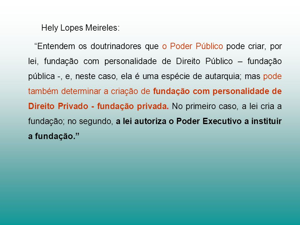 Hely Lopes Meireles: