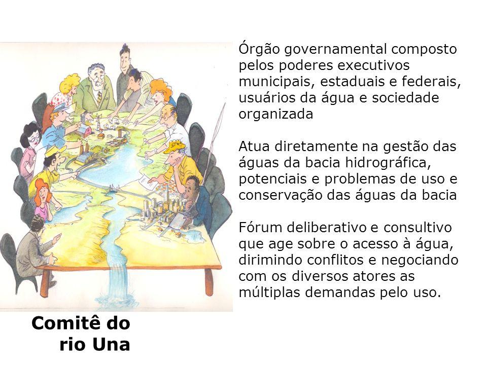 Órgão governamental composto pelos poderes executivos municipais, estaduais e federais, usuários da água e sociedade organizada