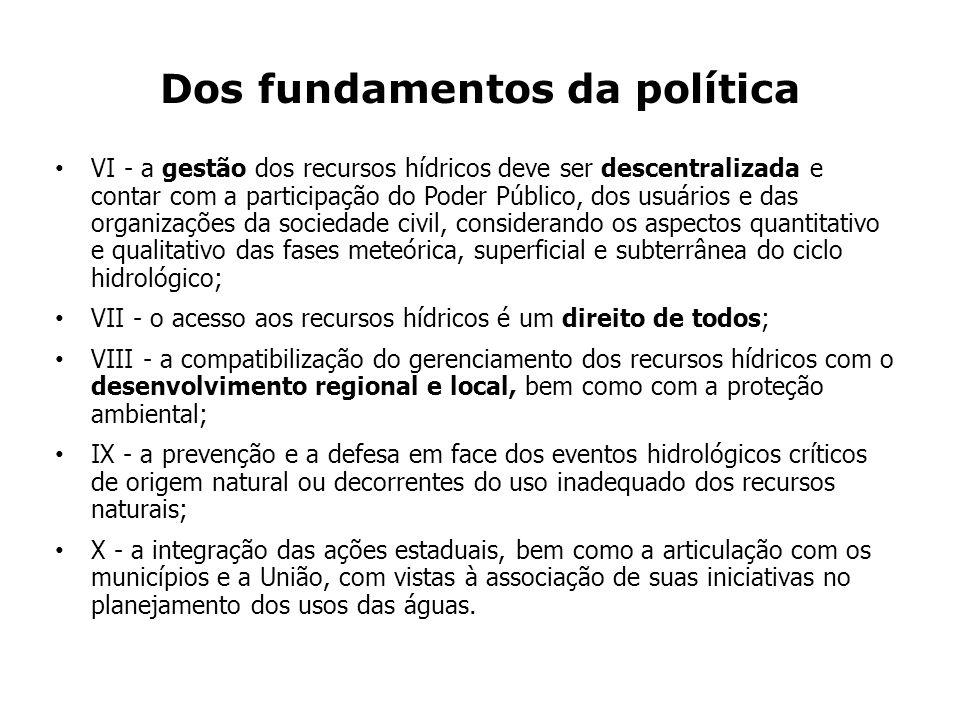 Dos fundamentos da política