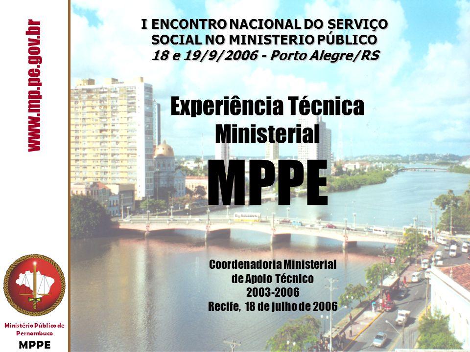 I ENCONTRO NACIONAL DO SERVIÇO SOCIAL NO MINISTERIO PÚBLICO