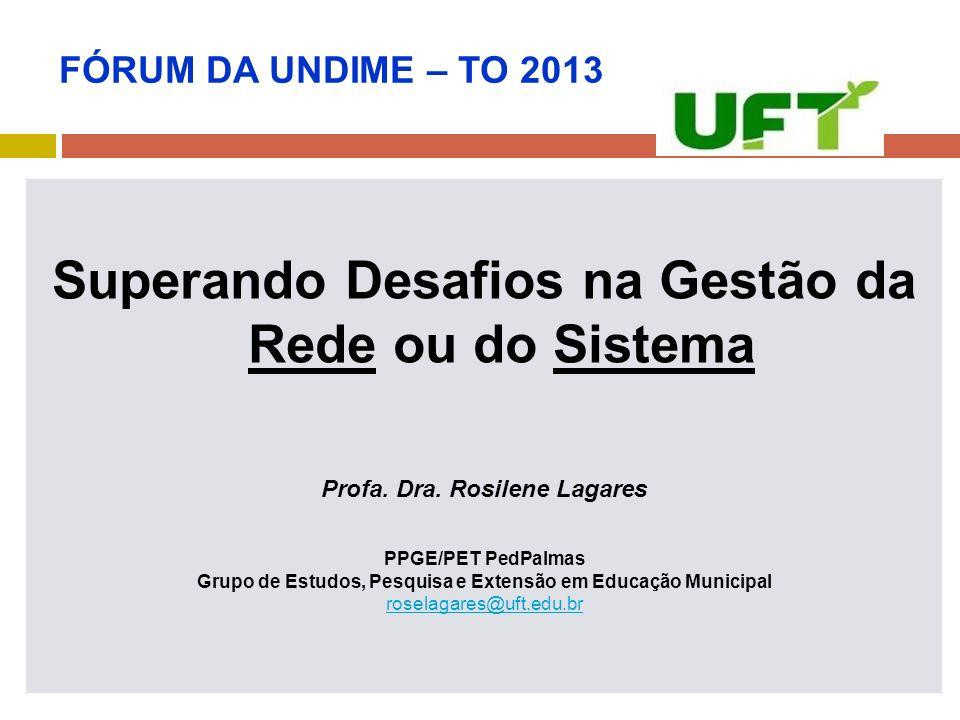 Profa. Dra. Rosilene Lagares