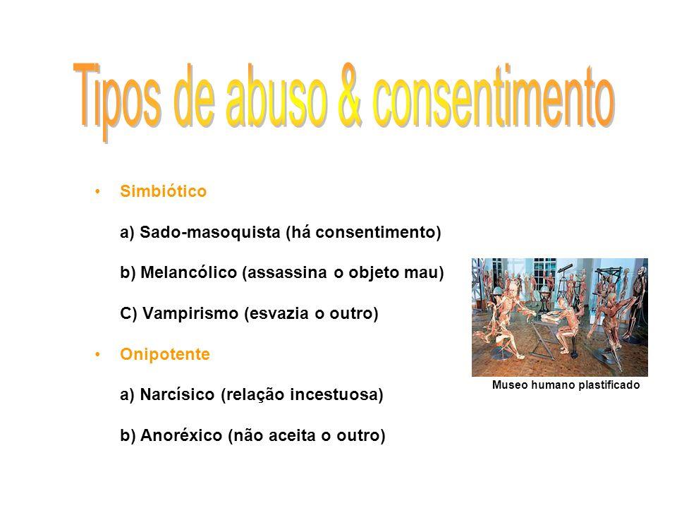 Tipos de abuso & consentimento