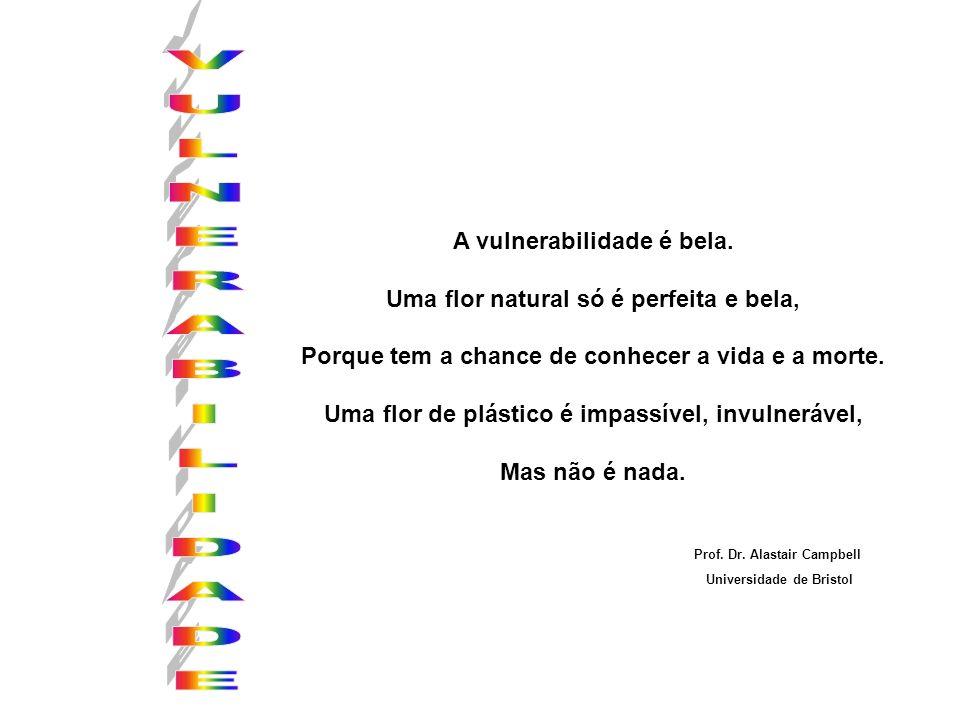 VULNERABILIDADE A vulnerabilidade é bela.