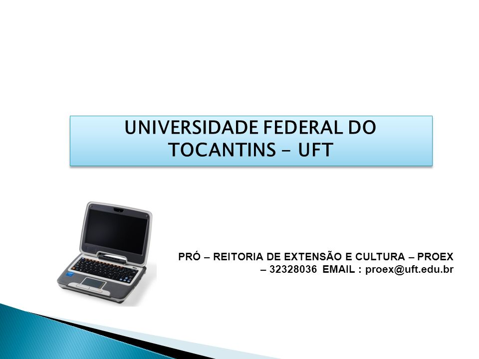 UNIVERSIDADE FEDERAL DO TOCANTINS - UFT