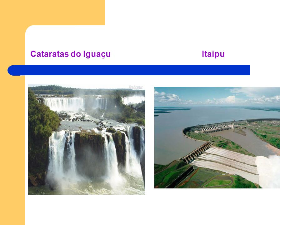 Cataratas do Iguaçu Itaipu