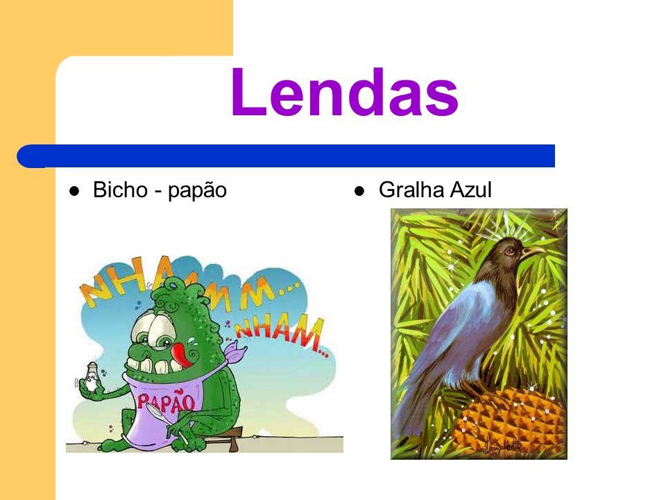 Lendas Bicho - papão Gralha Azul
