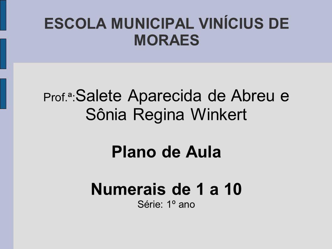 ESCOLA MUNICIPAL VINÍCIUS DE MORAES