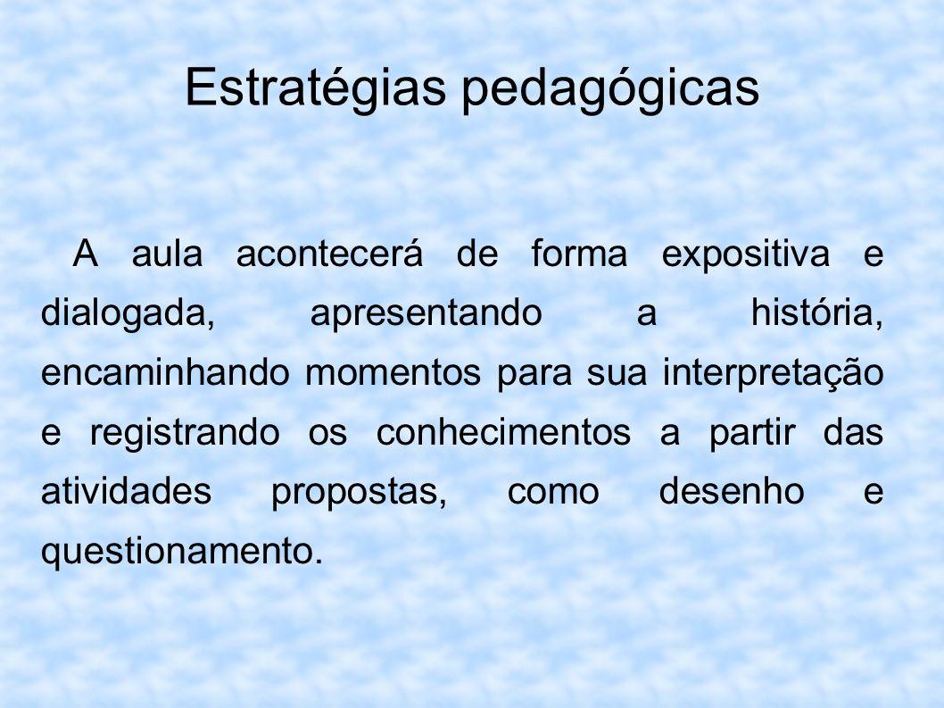 Estratégias pedagógicas