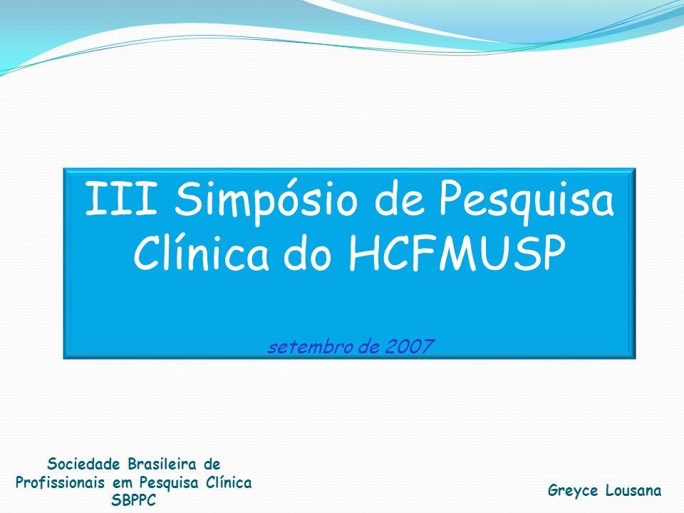 Sociedade Brasileira de Profissionais em Pesquisa Clínica SBPPC