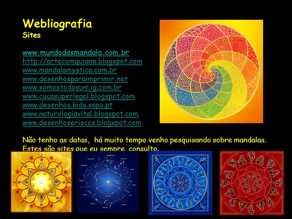 Webliografia Sites.
