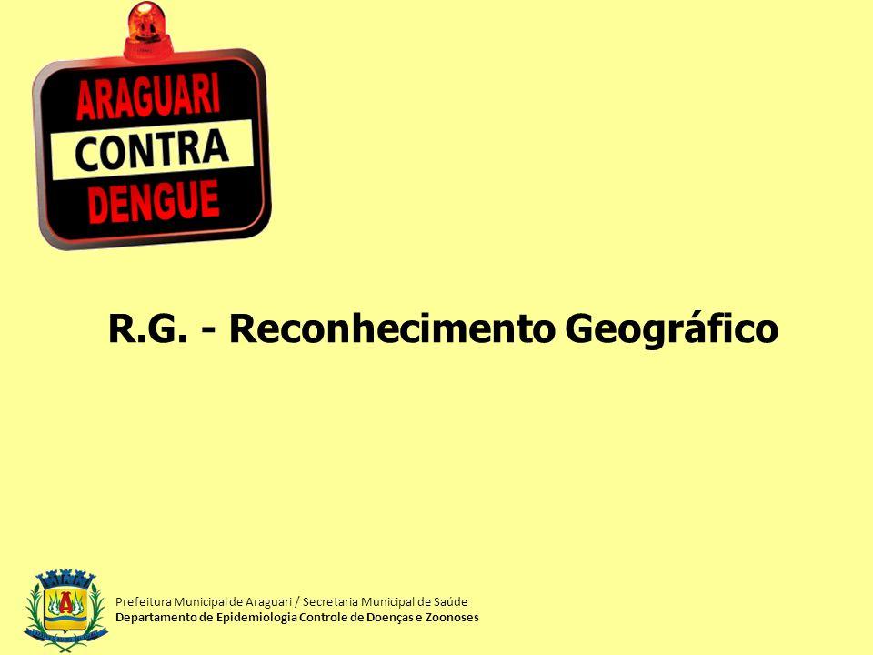 R.G. - Reconhecimento Geográfico