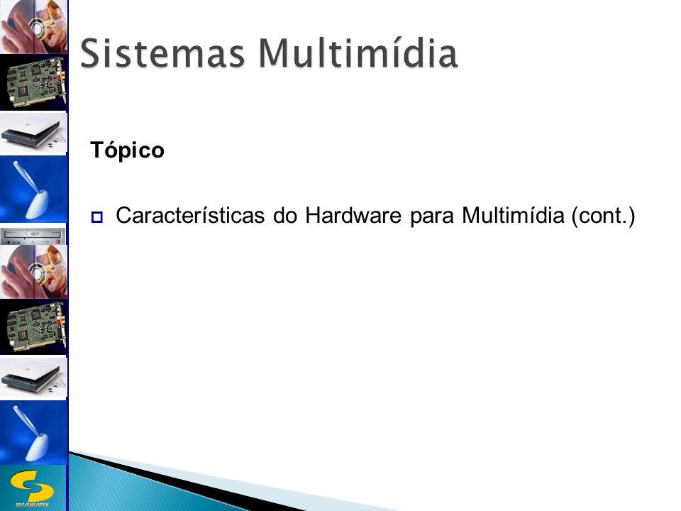 Sistemas Multimídia Tópico