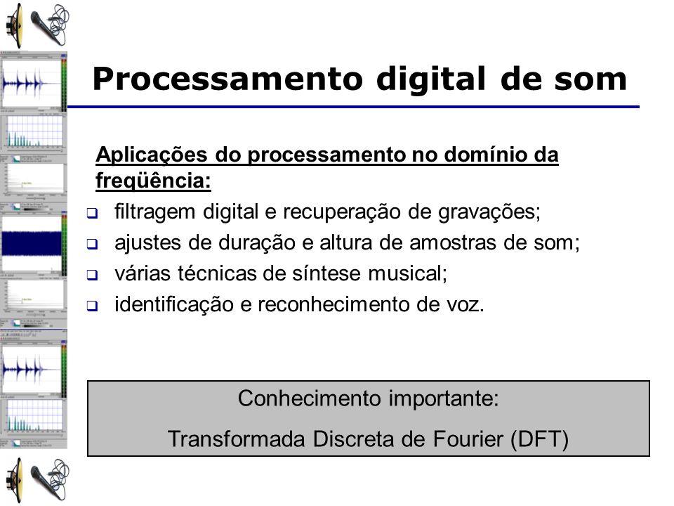 Processamento digital de som