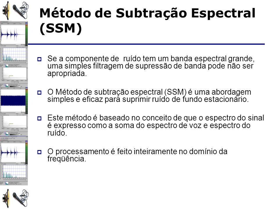 Método de Subtração Espectral (SSM)