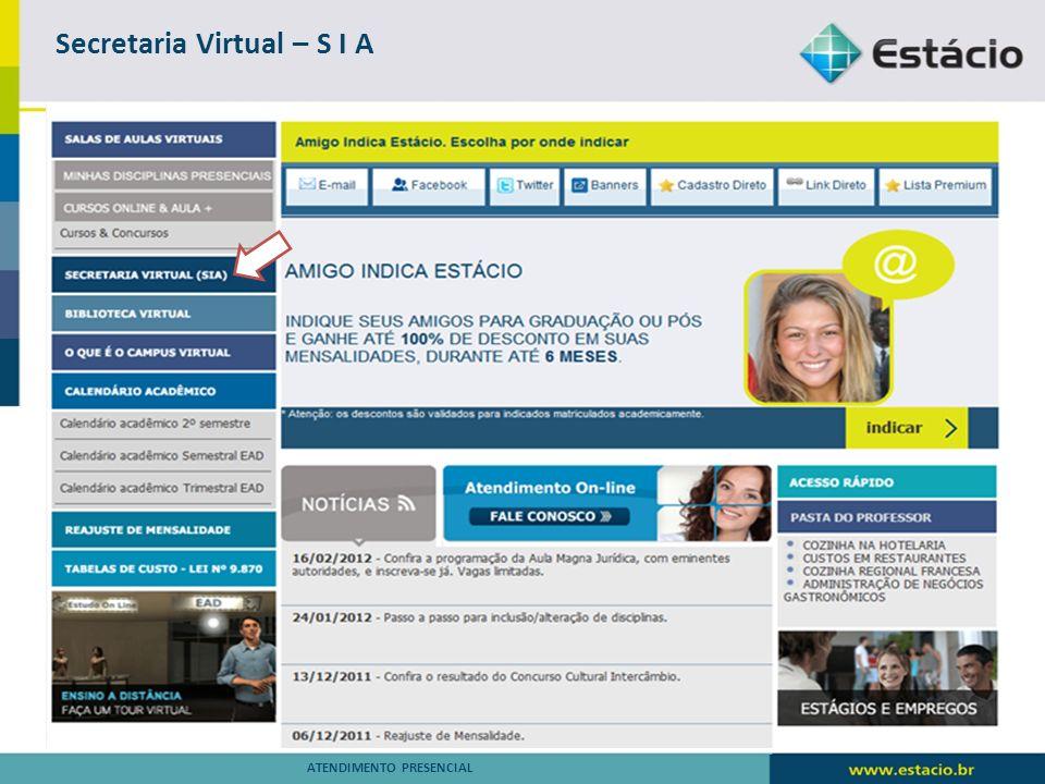 Secretaria Virtual – S I A