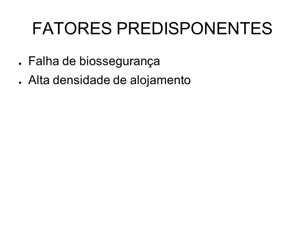 FATORES PREDISPONENTES
