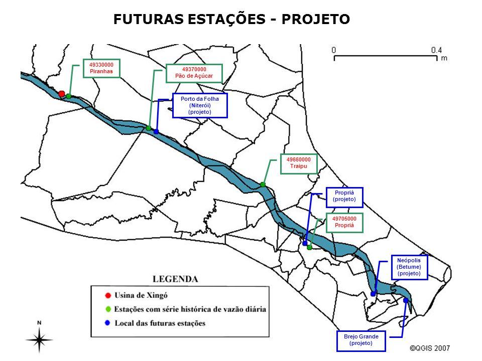 FUTURAS ESTAÇÕES - PROJETO