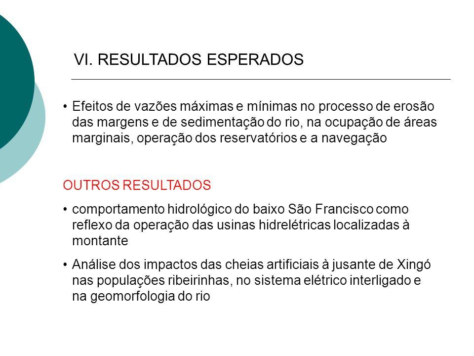 VI. RESULTADOS ESPERADOS