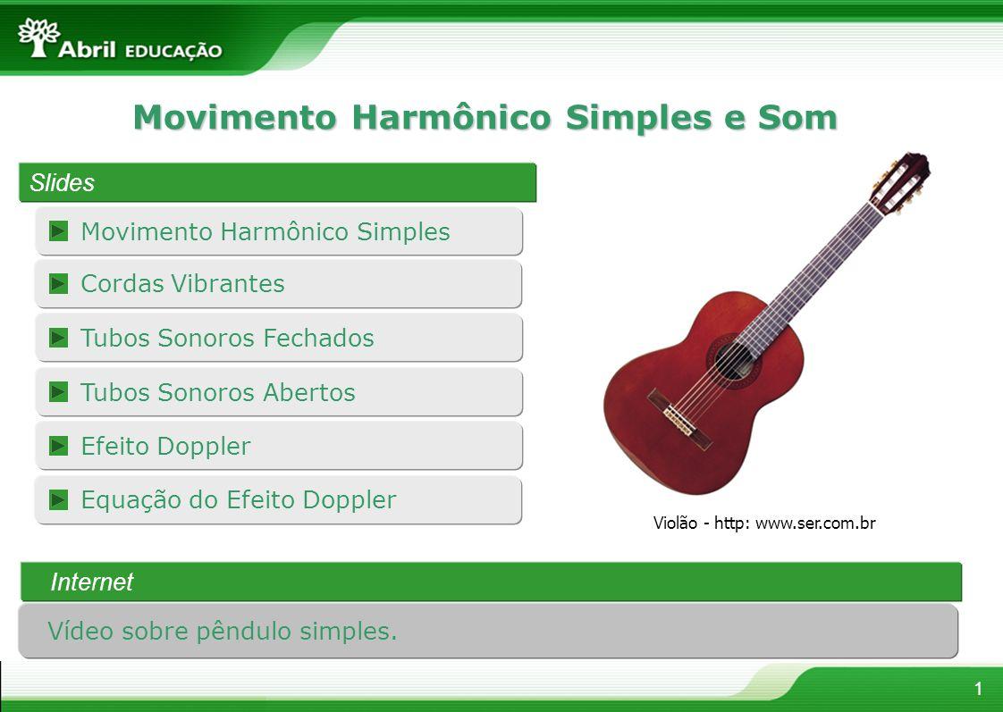 Movimento Harmônico Simples e Som