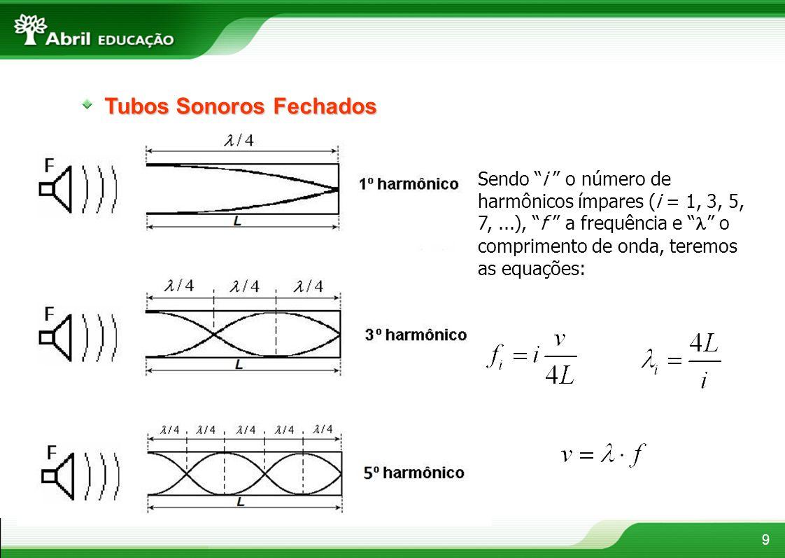 Tubos Sonoros Fechados