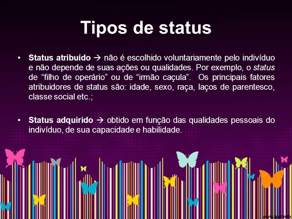 Tipos de status