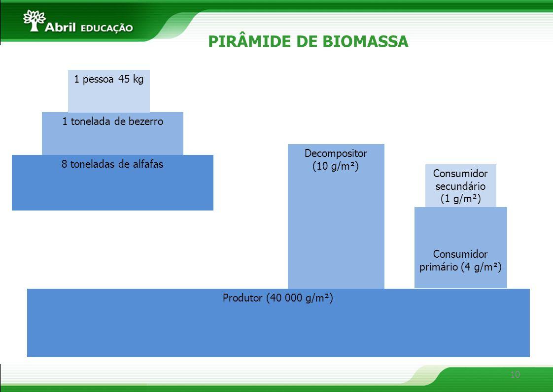 Consumidor primário (4 g/m²)