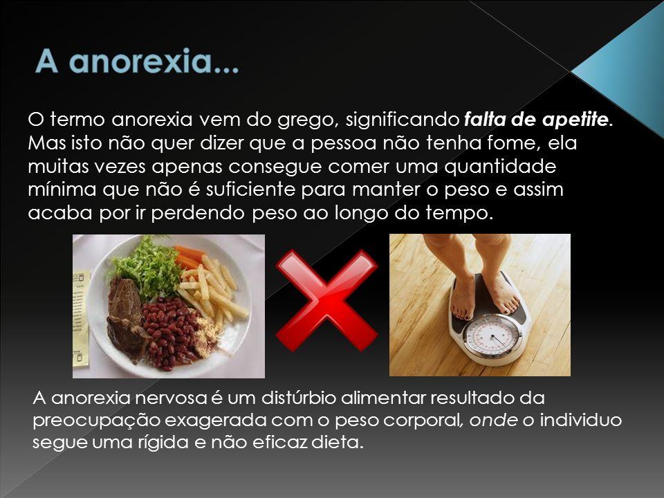 A anorexia...