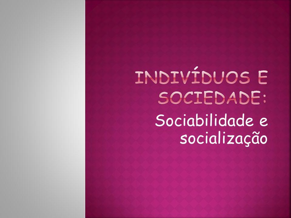 Indivíduos e sociedade: