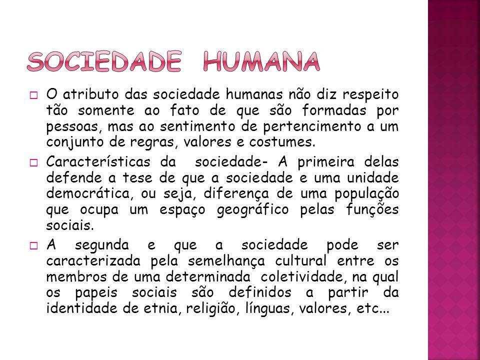 Sociedade humana
