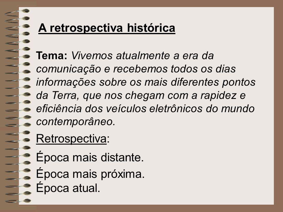 A retrospectiva histórica