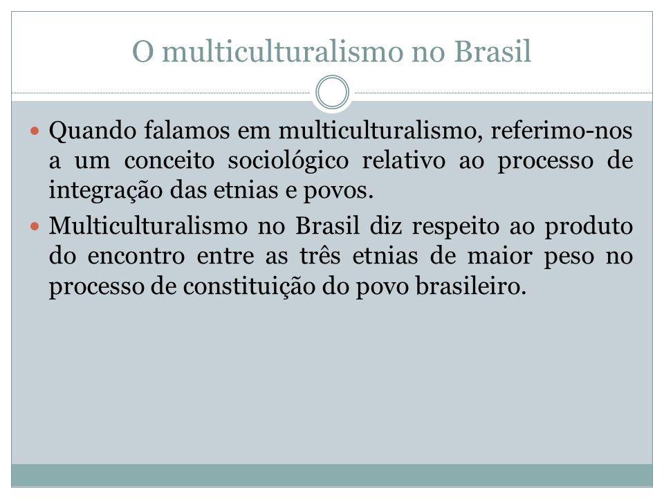 O multiculturalismo no Brasil