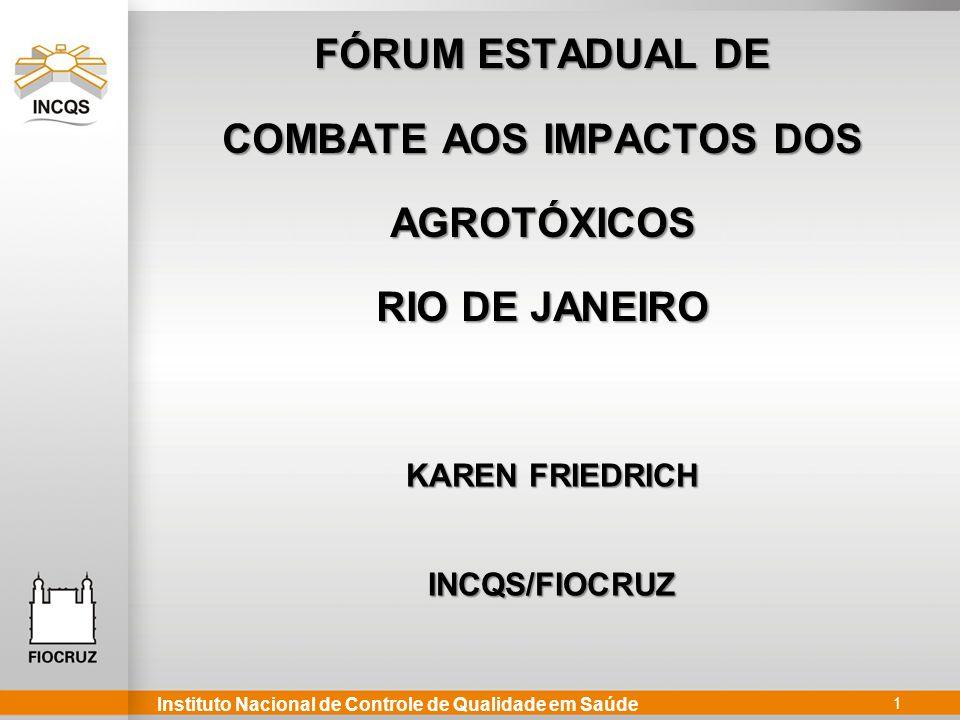 COMBATE AOS IMPACTOS DOS AGROTÓXICOS RIO DE JANEIRO