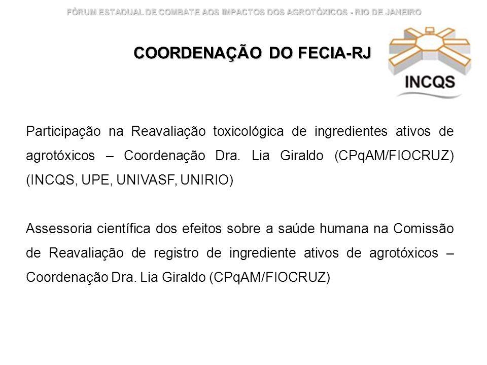 COORDENAÇÃO DO FECIA-RJ