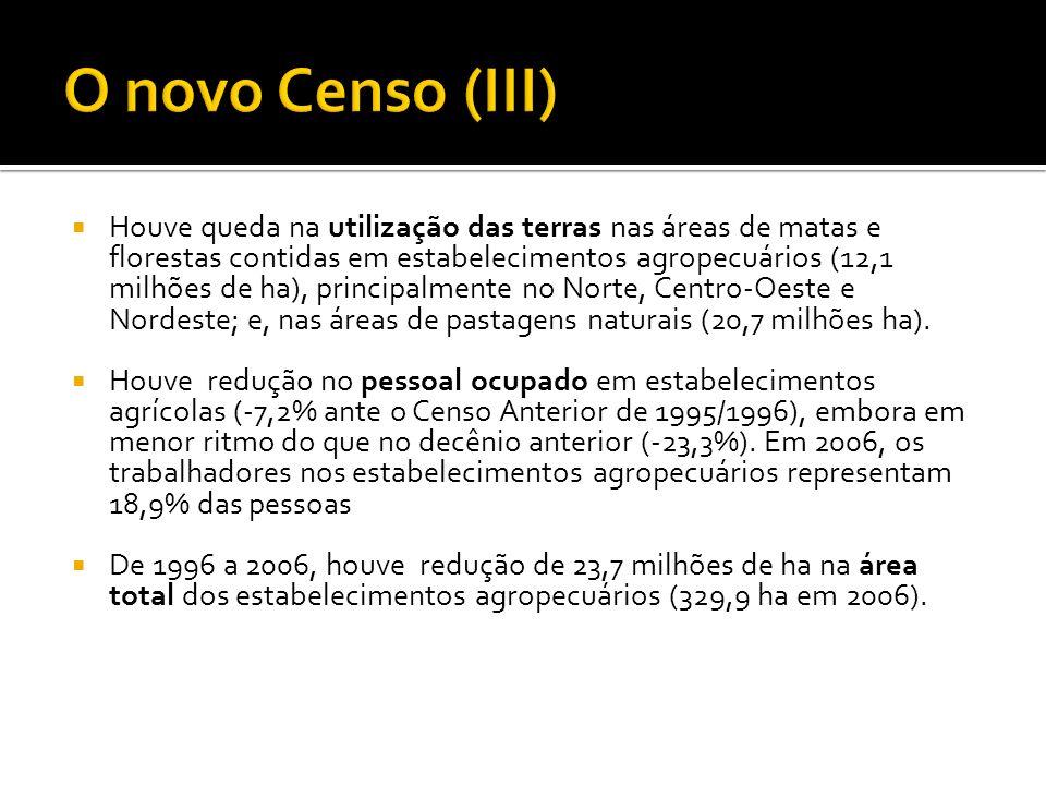 O novo Censo (III)