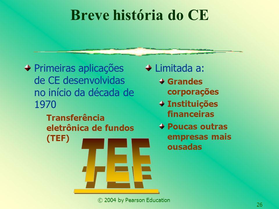 Breve história do CE TEF
