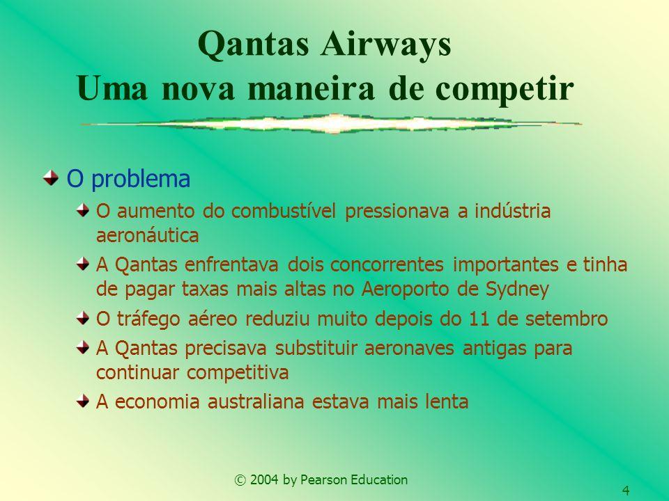 Qantas Airways Uma nova maneira de competir