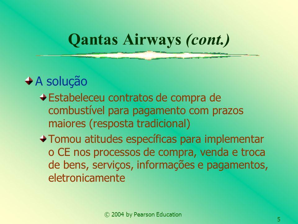 Qantas Airways (cont.) A solução