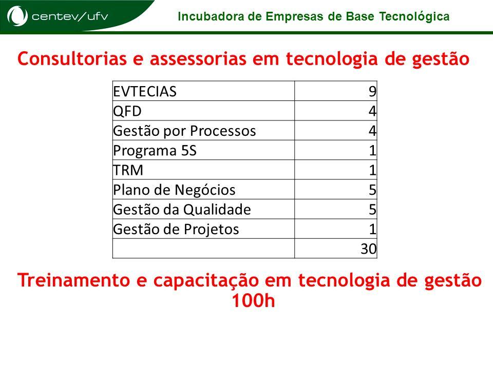 Consultorias e assessorias em tecnologia de gestão