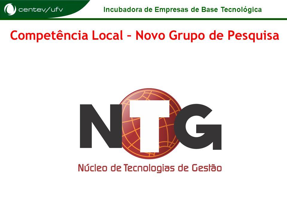 Competência Local – Novo Grupo de Pesquisa