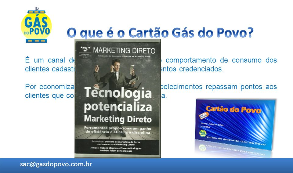 O que é o Cartão Gás do Povo