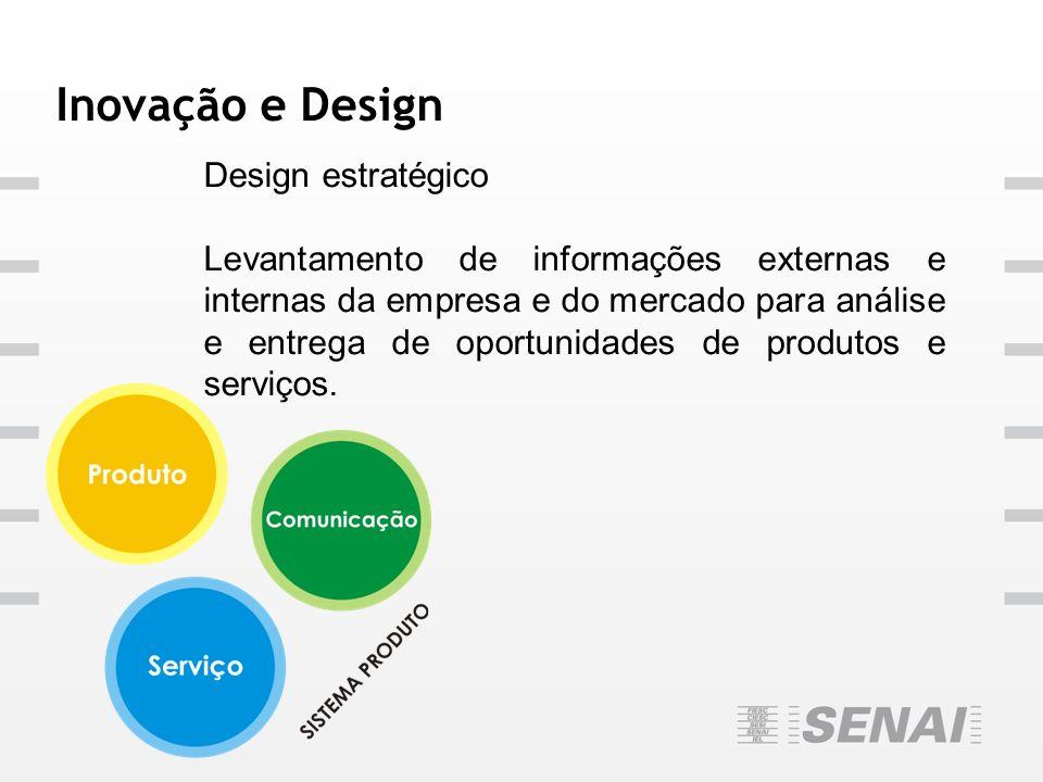 Inovação e Design Design estratégico