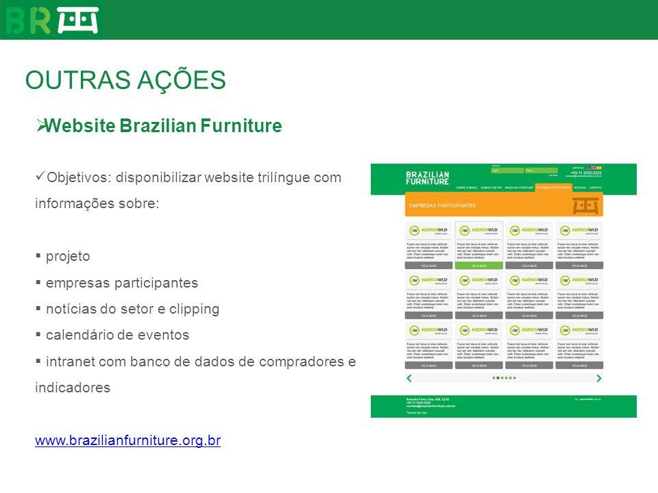 OUTRAS AÇÕES Website Brazilian Furniture