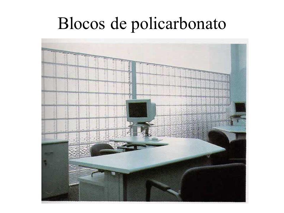 Blocos de policarbonato