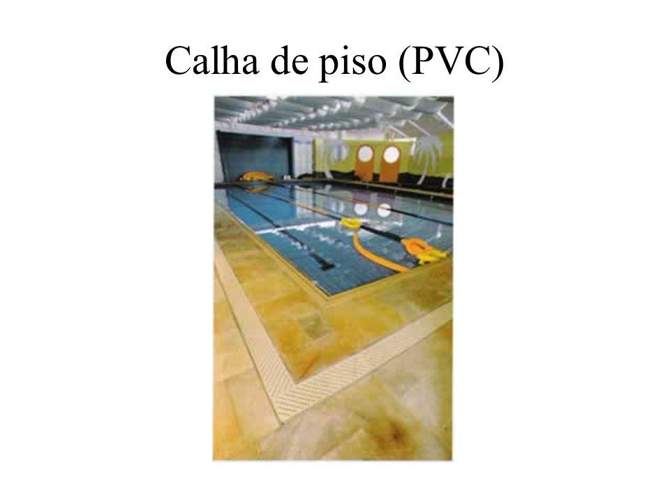Calha de piso (PVC)