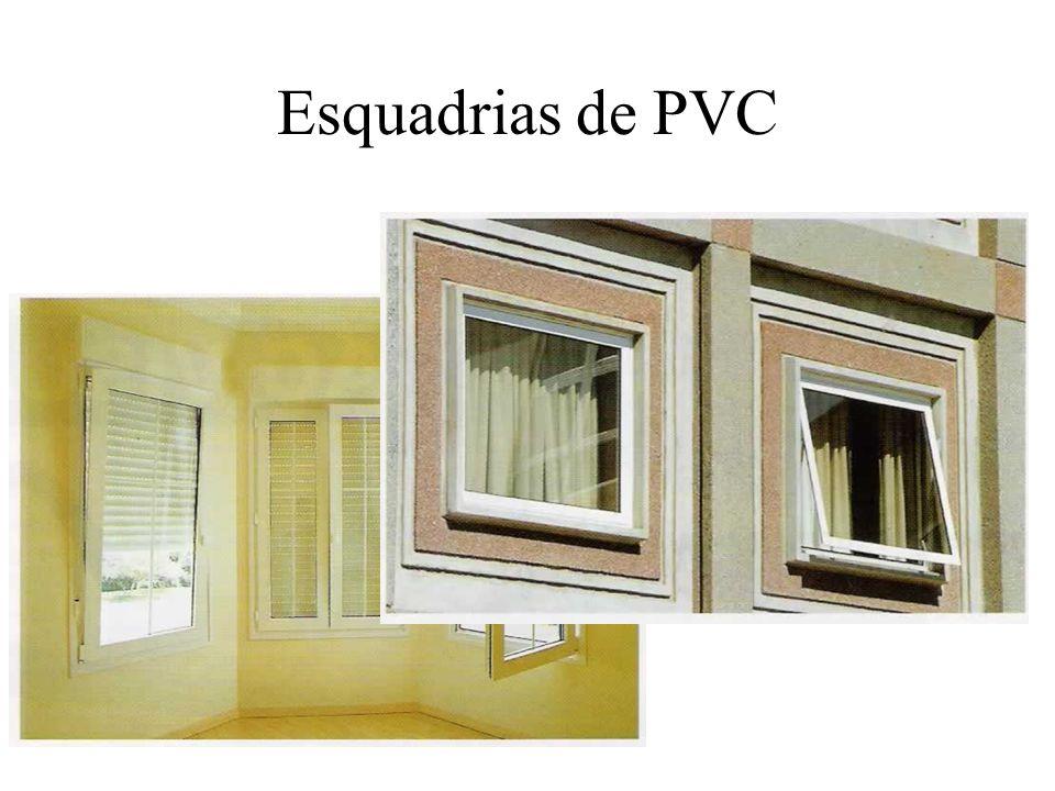 Esquadrias de PVC