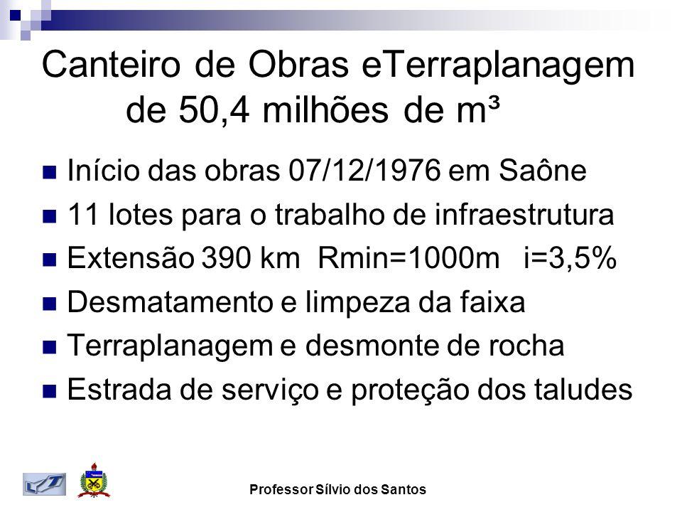 Canteiro de Obras eTerraplanagem de 50,4 milhões de m³