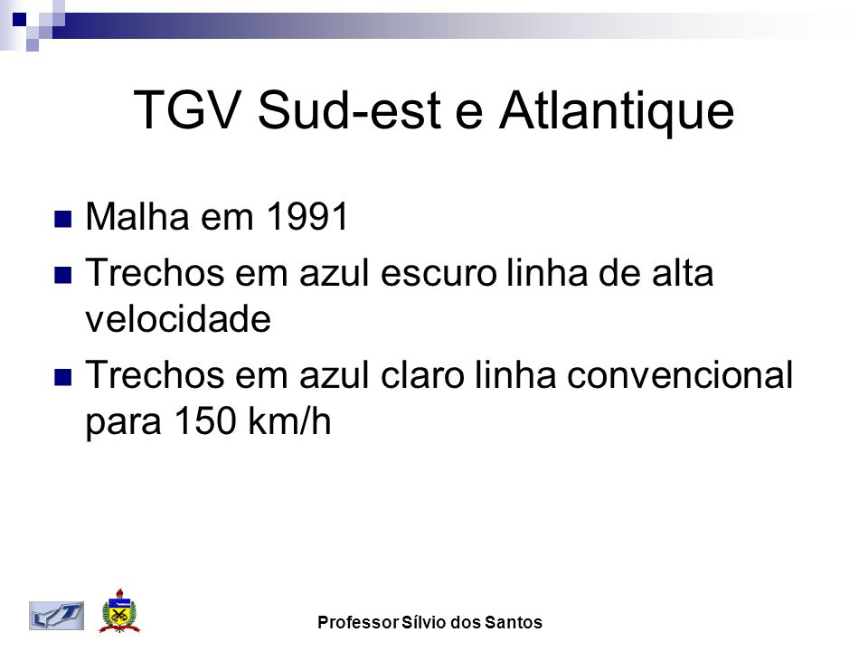 TGV Sud-est e Atlantique