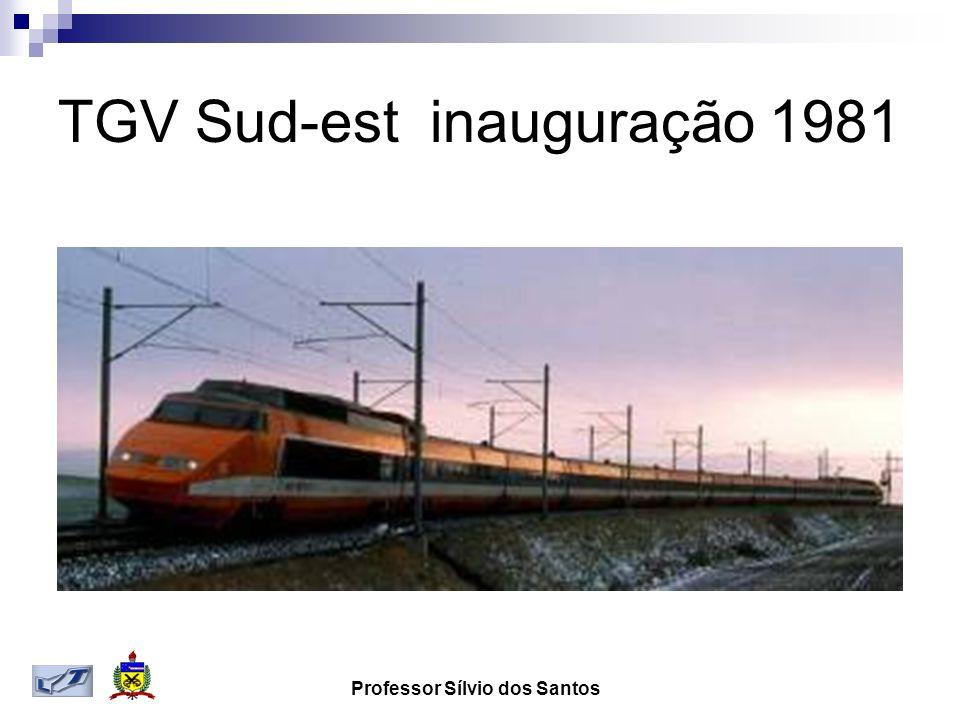 TGV Sud-est inauguração 1981