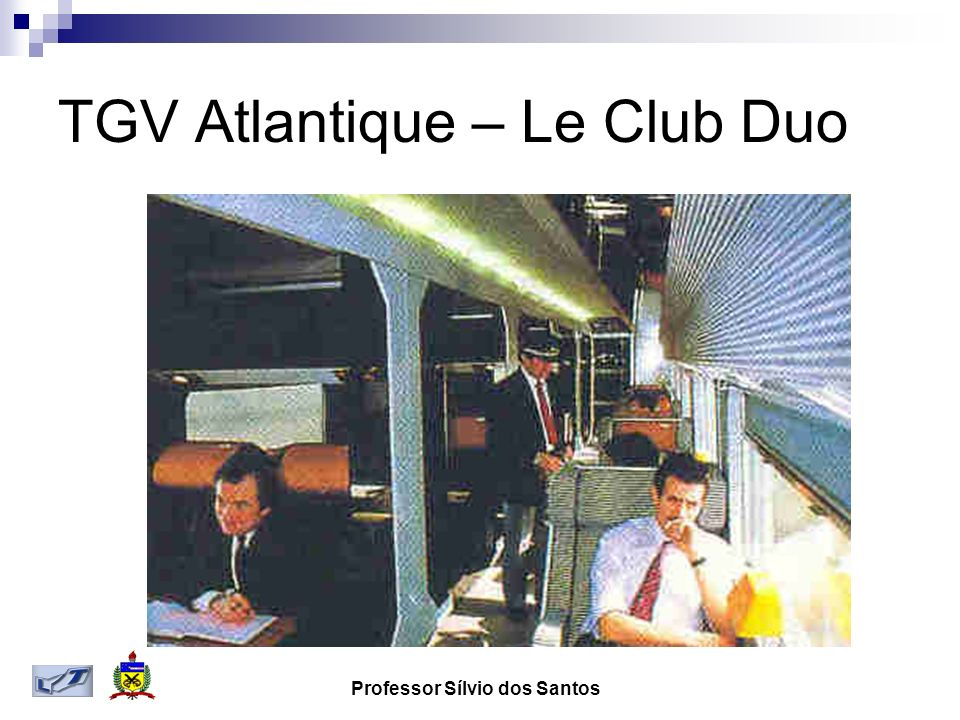 TGV Atlantique – Le Club Duo