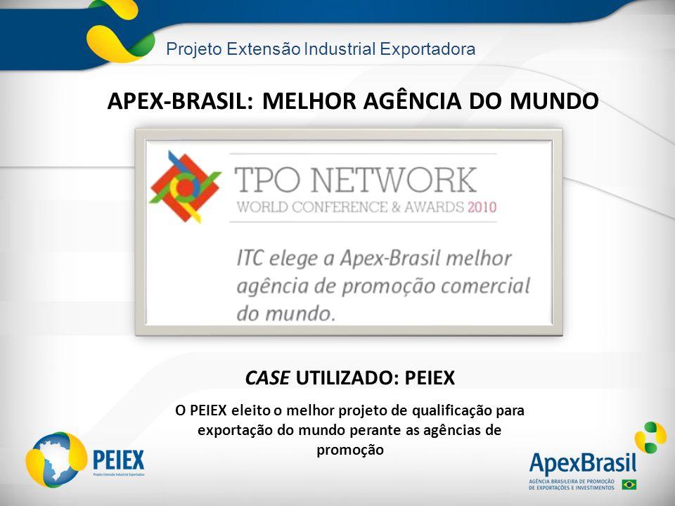 APEX-BRASIL: MELHOR AGÊNCIA DO MUNDO